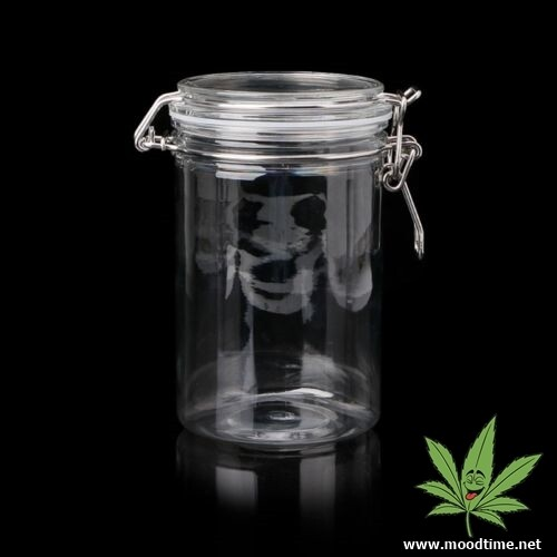 Airtight Glass Smell Proof Weed Storage Stash Jar | moodTime