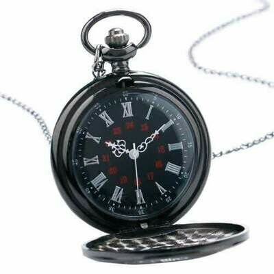 Black Steampunk Pocket Watch | moodTime
