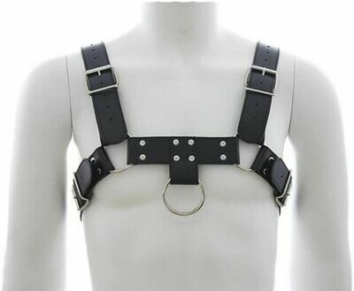 PU Leather Upper Body Male Harness | moodTime