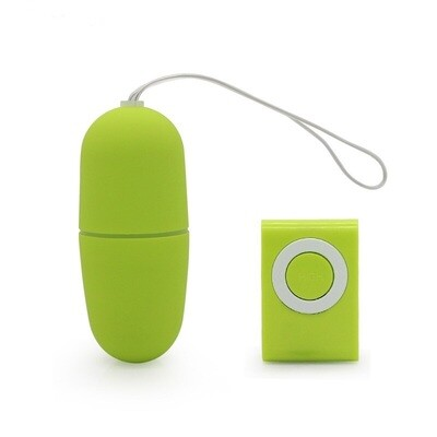 Wireless Remote Control Vibrating Egg - Green | moodTime