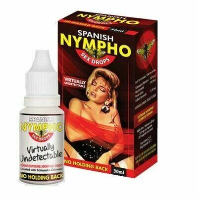 Nympho Spanish Sex Drops (30ml bottle) | moodTime