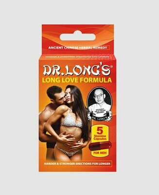 Dr Long's Long Love Capsules (5 tablets) | moodTime