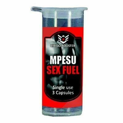 Mpesu - Sex Fuel (3 capsules) | moodTime