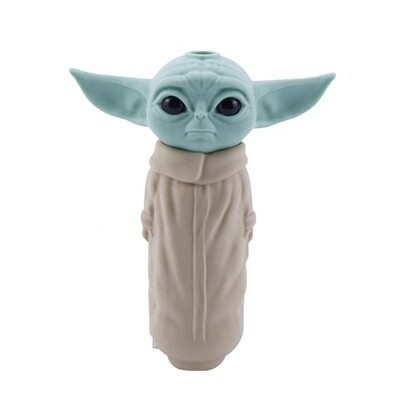 Baby Grogu Yoda Silicone Smoking Pipe   moodTime