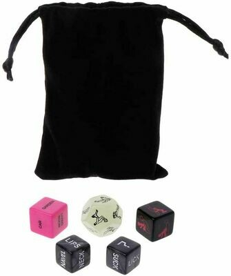 5pcs Sex Dice Adult Erotic Fun For Couples | moodTime