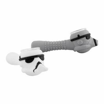 Storm Trooper Silicone Smoking Pipe | moodTime