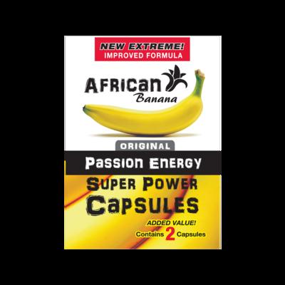 African Banana Super Power Capsules (2 capsules)   moodTime