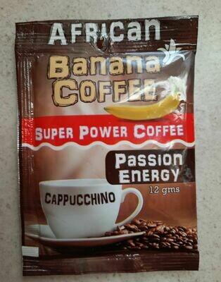 African Banana Coffee - Passion Energy   moodTime