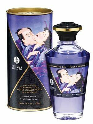 Shunga Intimate Kisses Oil - Exotic Fruits - 100ml | moodTime
