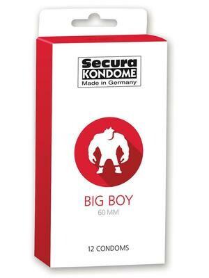 Secura Big Boy Condoms 60mm - 12pcs | moodTime
