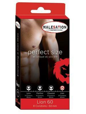 Malesation Lion Condoms 60mm - 8pcs | moodTime