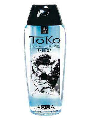 Shunga Toko Aqua Waterbased Lube - 165ml   moodTime