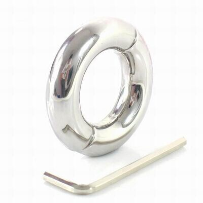 Stainless Steel Scrotum Weight Ball Stretcher   moodTime