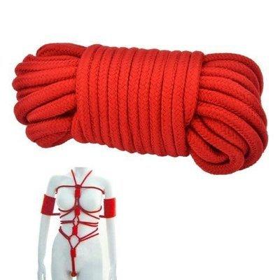 SM High Quality 10m Soft Cotton Bondage Rope   moodTime
