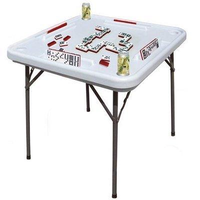 Mesa de domino plegable.
