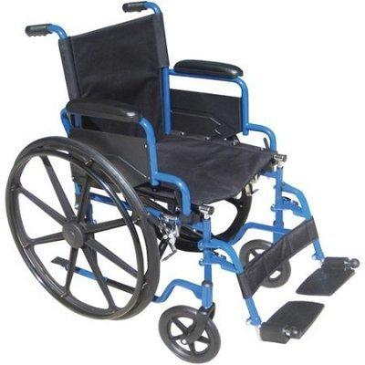Silla de ruedas Blue Streak asiento de 16