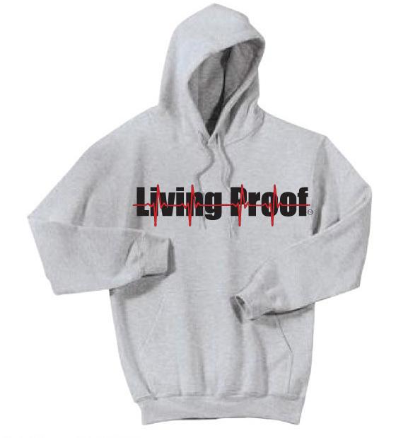 Heather Grey Kangaroo Pocket Pullover Hoodie