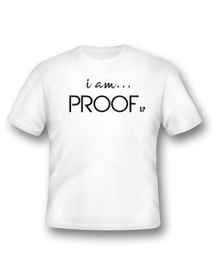 """""""i am PROOF"""" Crew Neck Tee"""