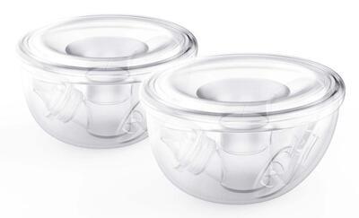 Milkeaze handsfree collection cups