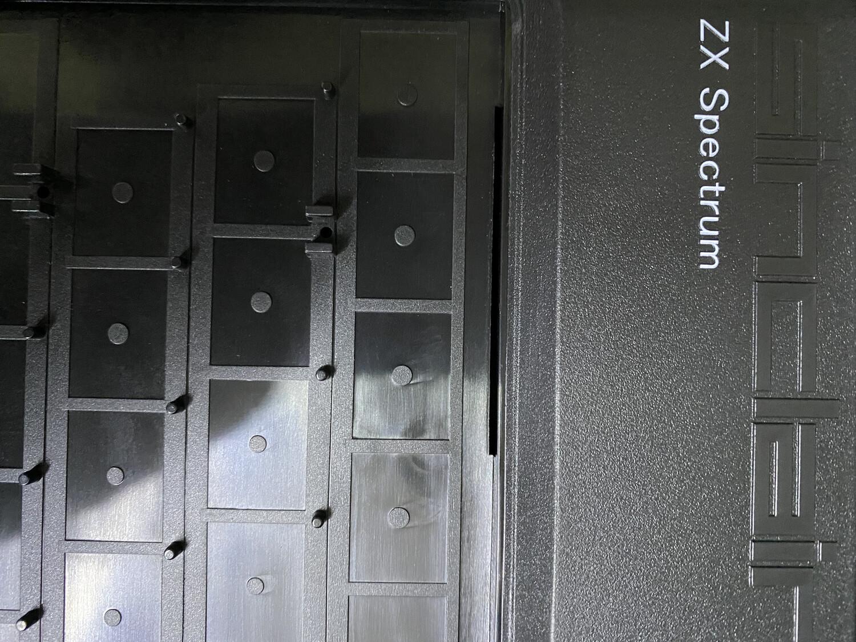 ZX SPECTRUM Replacement Case Black (Harlequin)