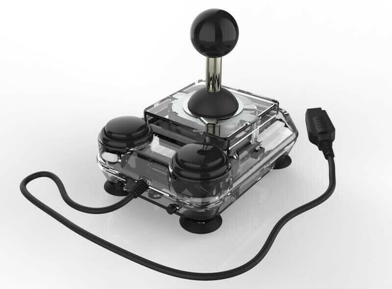 Transparent ArcadeR Joystick