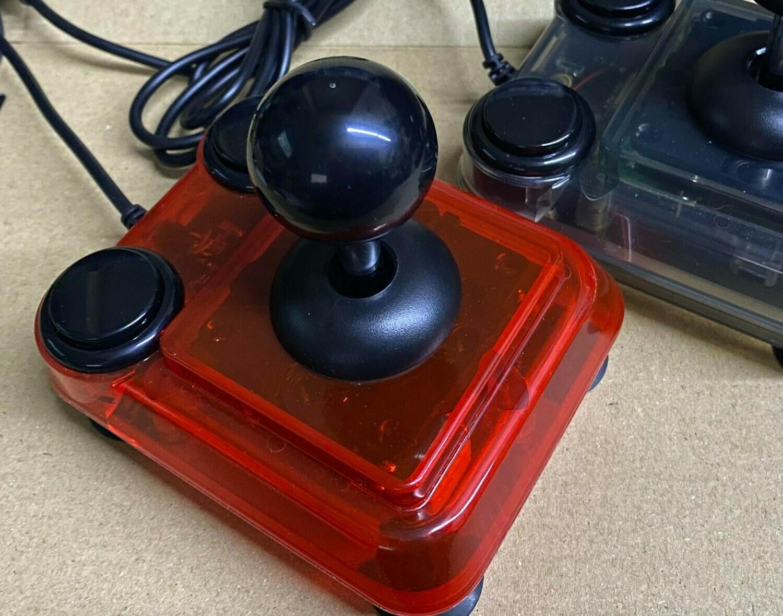 (Transparent Red) ArcadeR Joystick