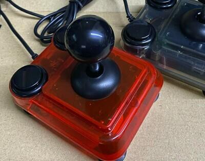 Transparent Red ArcadeR Joystick