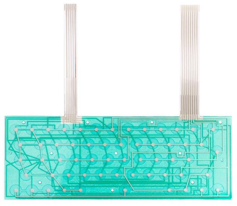 """ZX Spectrum 48k+/128k """"Toastrack"""" keyboard membrane"""