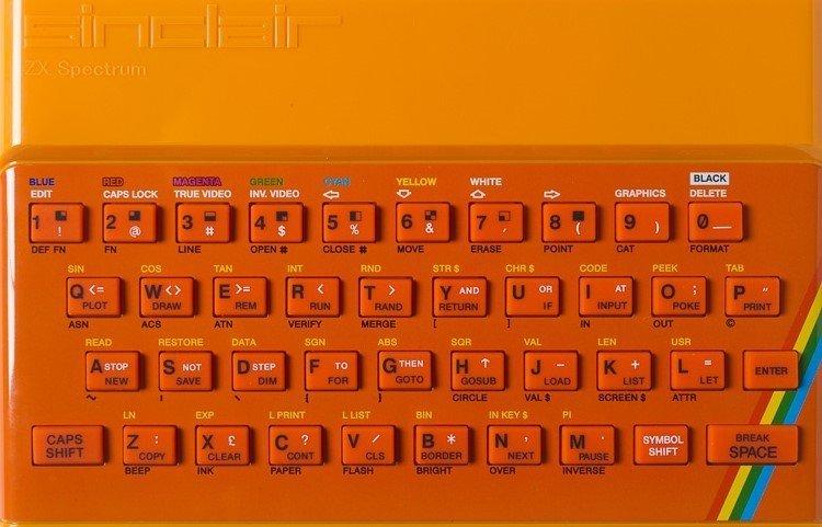 ZX SPECTRUM Replacement Case Orange