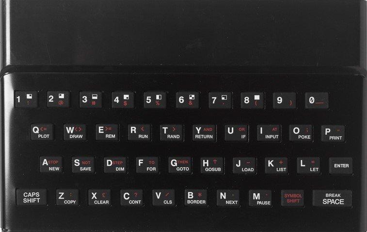 ZX SPECTRUM Replacement Case Black