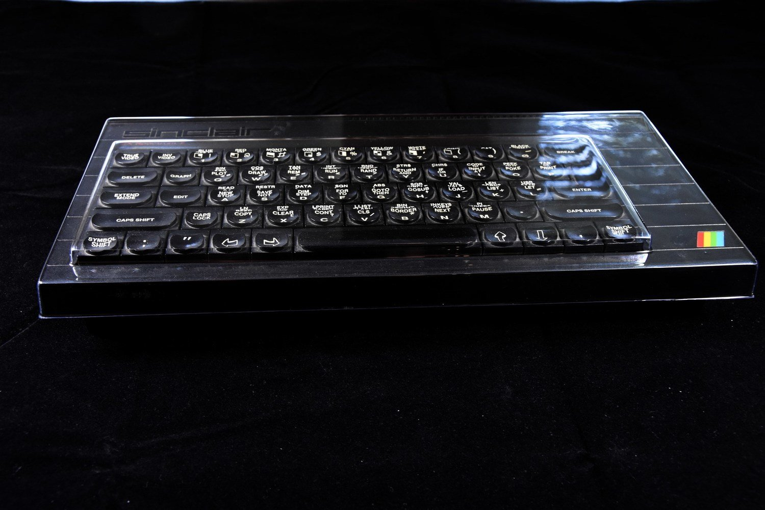 ZX Spectrum+ dust cover