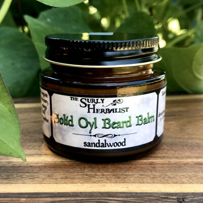 Solid Oyl Beard Balm - Sandalwood