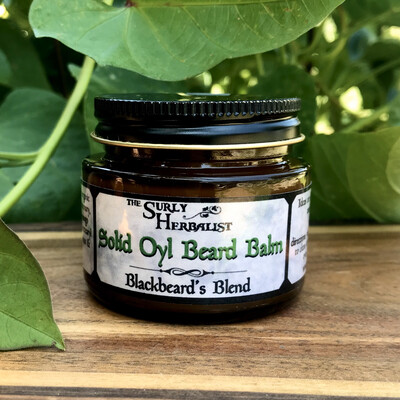 Solid Oyl Beard Balm - Blackbeard's Blend