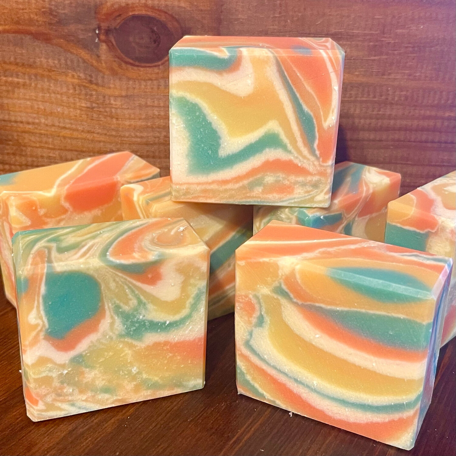 Limited Edition Swirlie Soap - Citrus Madness