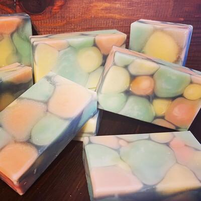 Limited Edition Cobblestone Soap - Rosemary Eucalyptus