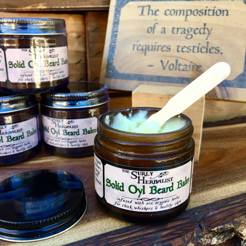 Solid Oyl Beard Balm - Vanilla Vetiver