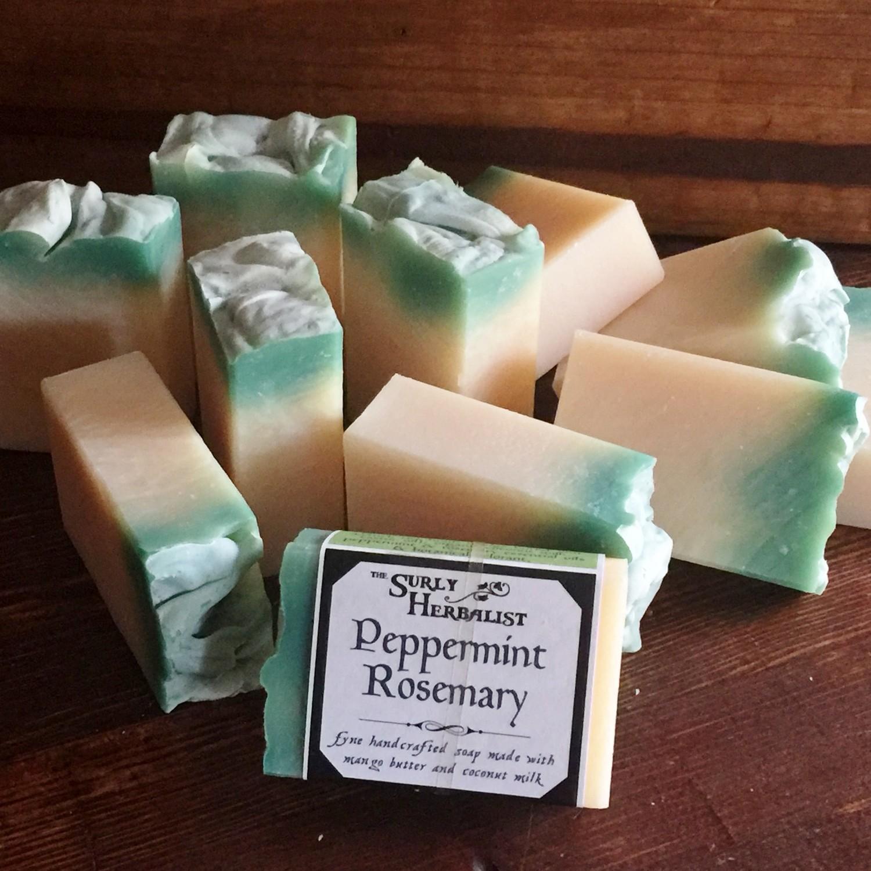 Kombucha Soap - Peppermint Rosemary