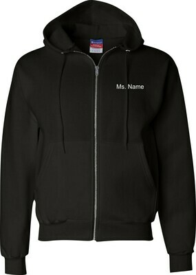 Chesco (STAFF) Full Zip Hooded Sweatshirt