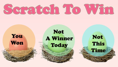 Easter Scratch off card Game