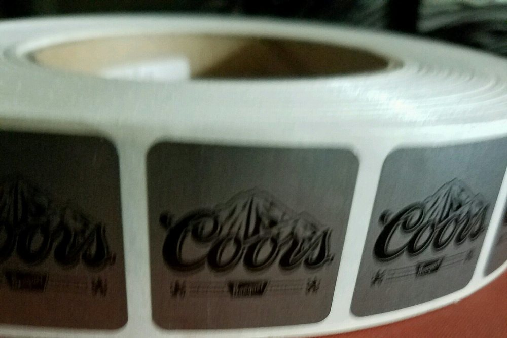 Coors Scratch off stickers- Make your own Scratch off tickets, set of 1,000