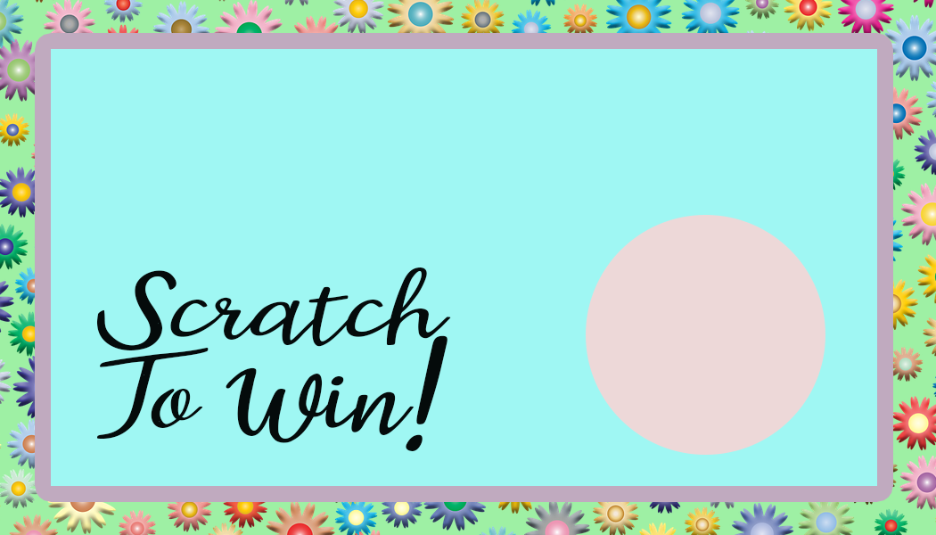 Pastel scratch off card- free printable