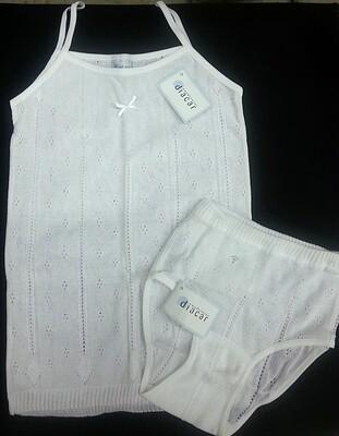 Conjunto niña DIACAR braga + camiseta