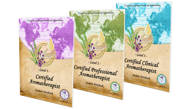 Aromatherapy 3-Bundle (Level 1, 2 & 3) - 10% OFF Included
