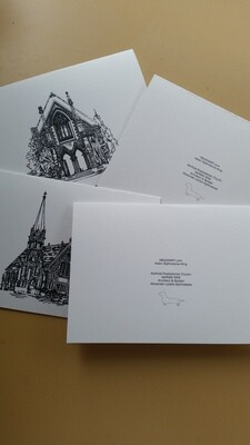 Printed Card- Small Matt Finish