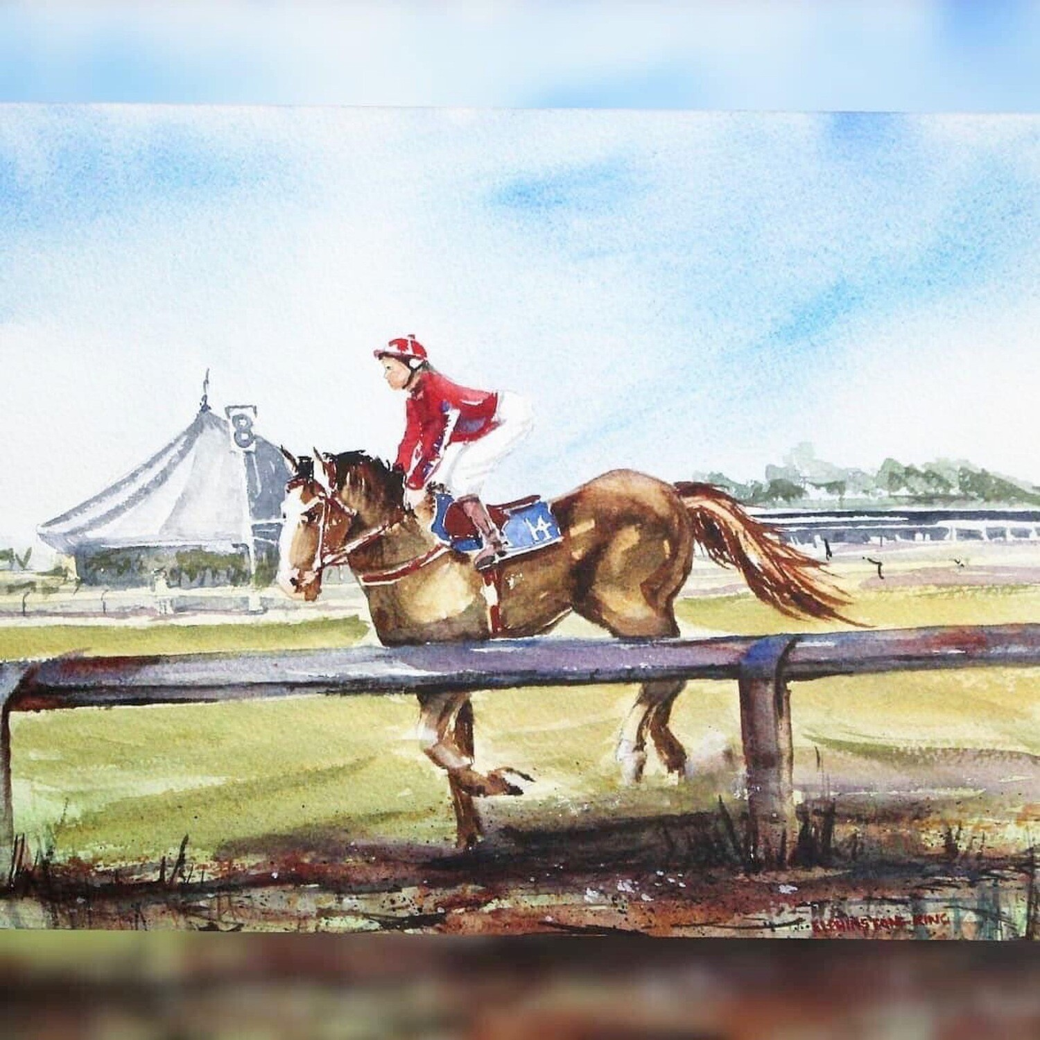 Ride on Melb Cup