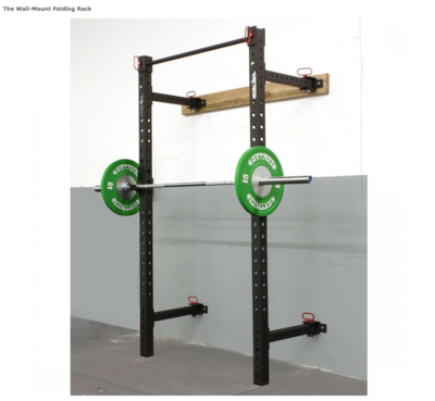 Wall-Mount Folding Titan Rack