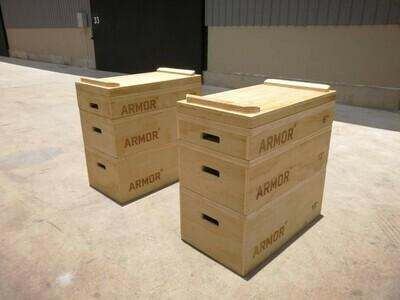 ARMOR Wood Jerk Blocks