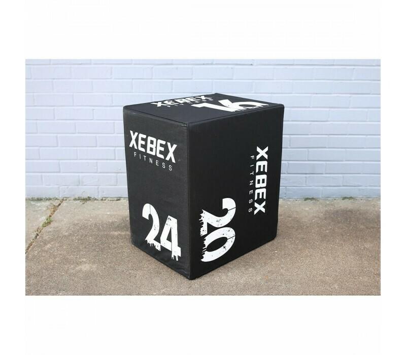 Xebex 3-In-1 Wood/Foam Plyo Boxes
