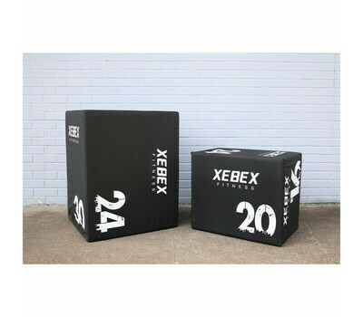 Xebex 3-In-1 Wood/Foam Plyo Boxes