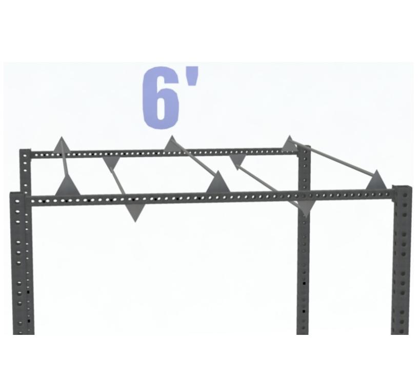 6' TRIANGLE MONKEY BAR